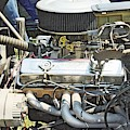 Old Car Engine by Karl Rose