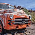 Old Dodge Truck In The Desert by Edward Fielding