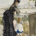 On The Balcony by Berthe Morisot