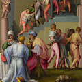 Pharaoh With His Butler And Baker  by Pontormo