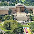 Philadelphia Art Museum by Trish Tritz