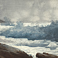 Prout's Neck, Breakers by Winslow Homer