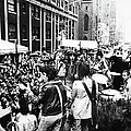 Rolling Stones On Fifth Avenue by Fred W. McDarrah