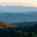 Sangre De Cristo Sunset by Steve Krull