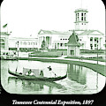 Tennessee Centennial Exposition, Auditorium Building, Lake And G by A Gurmankin