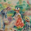 The Apple Seller by Pierre Auguste Renoir