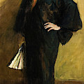 The Blue Kimono by William Merritt Chase