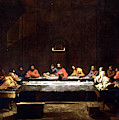 The Last Supper  by Nicolas Poussin