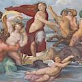 Triumph Of Galatea, Detail by Peter Barritt