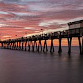 Venice Pier Sunset by Paul Schultz