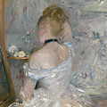 Woman At Her Toilette by Berthe Morisot