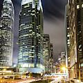 Hong Kong Night Rush by Didier Marti