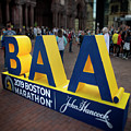2019 Boston Athletic Association Marathon Display by Joann Vitali