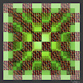 A 2d Celluloid Crystal Stack 5 by Walter Neal