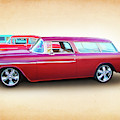 3 - 1955 Chevy's by Rick Wicker