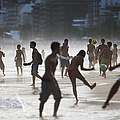 Brazils Various Forms Of Soccer by Mario Tama