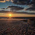 Cape May Point Sunset by Tom Singleton