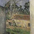Farmyard  by Paul Cezanne