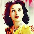Hedy Lamarr, Vintage Movie Star by John Springfield