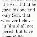 John 3 16 -bible Verse Wall Art Collection by Mark Lawrence