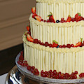 3 Layer Wedding Cake by Victor Lord Denovan