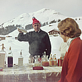 Lech Ice Bar by Slim Aarons