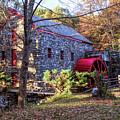 Longfellow's Wayside Inn Grist Mill by Jeff Folger