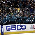 Los Angeles Kings V San Jose Sharks - by Ezra Shaw