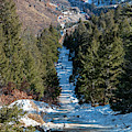 Manitou Incline In Winter by Steve Krull
