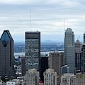 Montreal Skyline by David Gorman