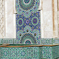 Mosaic Exterior Decorations Of The Hassan II Mosque by Steve Estvanik