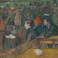 Moulin De La Galette by Henri de Toulouse-Lautrec