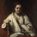 Portrait Of Hendrickje Stoffels  by Rembrandt