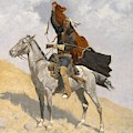 The Blanket Signal by Frederic Remington
