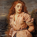 The Martyr Of The Solway by John Everett Millais