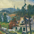 The Red Vine  Matinicus Island  Maine  by George Bellows