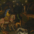 The Vision Of Saint Eustace  by Pisanello