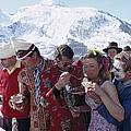 Zermatt Skiing by Slim Aarons