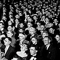 3d Film Audience by J. R. Eyerman
