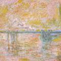 Charing-cross Bridge In London -  by Claude Monet