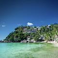 Diniwid Resort Beach View In Tropical Paradise Boracay Island Ph by Jacek Malipan