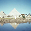 Great Pyramid Of Giza by Michael Ochs Archives