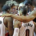 Houston Rockets V Portland Trailblazers by Steve Dykes