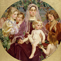 Madonna Of Giverny  by Frederick William MacMonnies