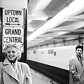 Marilyn In Grand Central Station by Michael Ochs Archives
