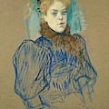 May Milton by Henri de Toulouse-Lautrec