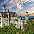 Neuschwanstein Castle by Anthony Dezenzio