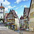Rothenburg Ob Der Tauber by Anthony Dezenzio
