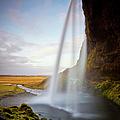 Seljalandsfoss Waterfall by Ed Norton