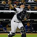 Texas Rangers V New York Yankees by Al Bello